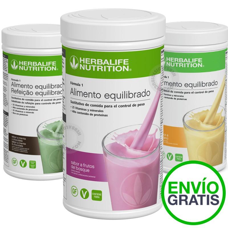 Dieta para combinar con batidos herbalife